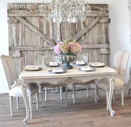 Antique  French living space table