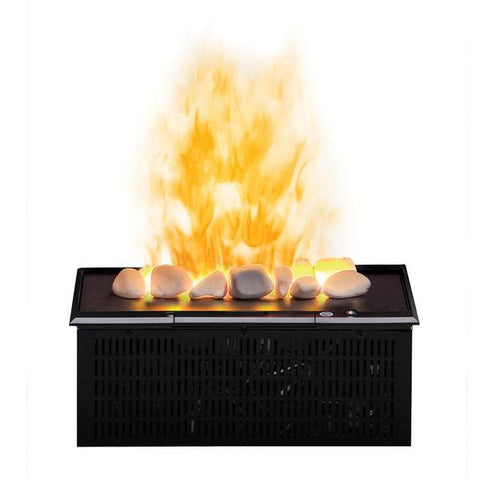 "Dimplex Opti-Myst 16"" Plug-in Vapor Cassette with Rocks and Heat Receptacle - Ethanol Fireplace Pros"