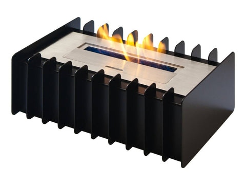 Ignis EBG1200 Black Fireplace Grate - Ethanol Fireplace Pros