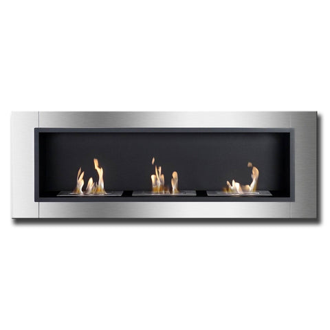 Ignis Ardella Bio Ethanol Recessed Wall Fireplace - Ethanol Fireplace Pros