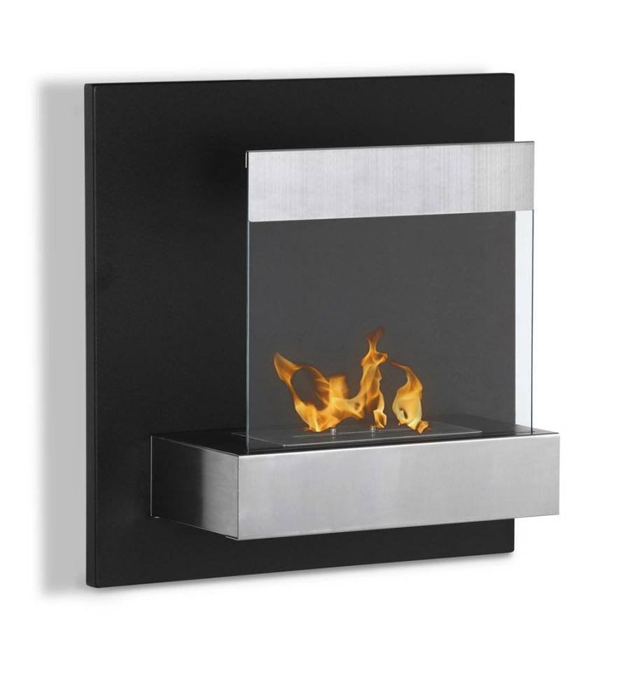 Free Shipping and No Sales Tax on the Ignis Melina Wall Mount Bio Ethanol Fireplace on Ethanol Fireplace Pros