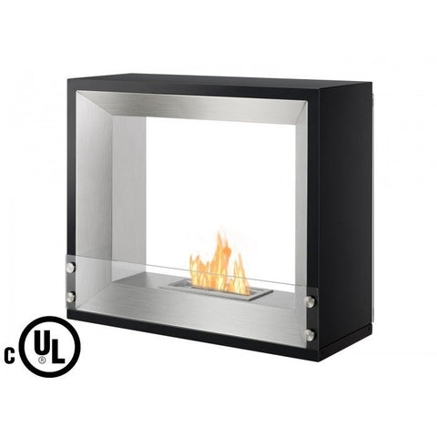 Ignis Mecca Freestanding Ventless Ethanol Fireplace - Ethanol Fireplace Pros