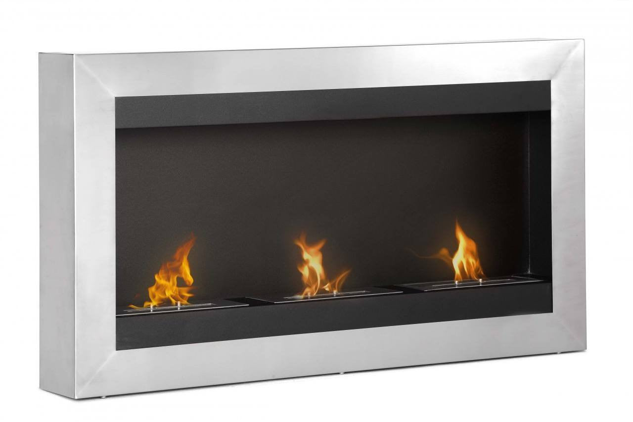 Free Shipping and No Sales Tax on the Ignis Magnum Wall Mount Bio Ethanol Fireplace from the Ethanol Fireplace Pros.