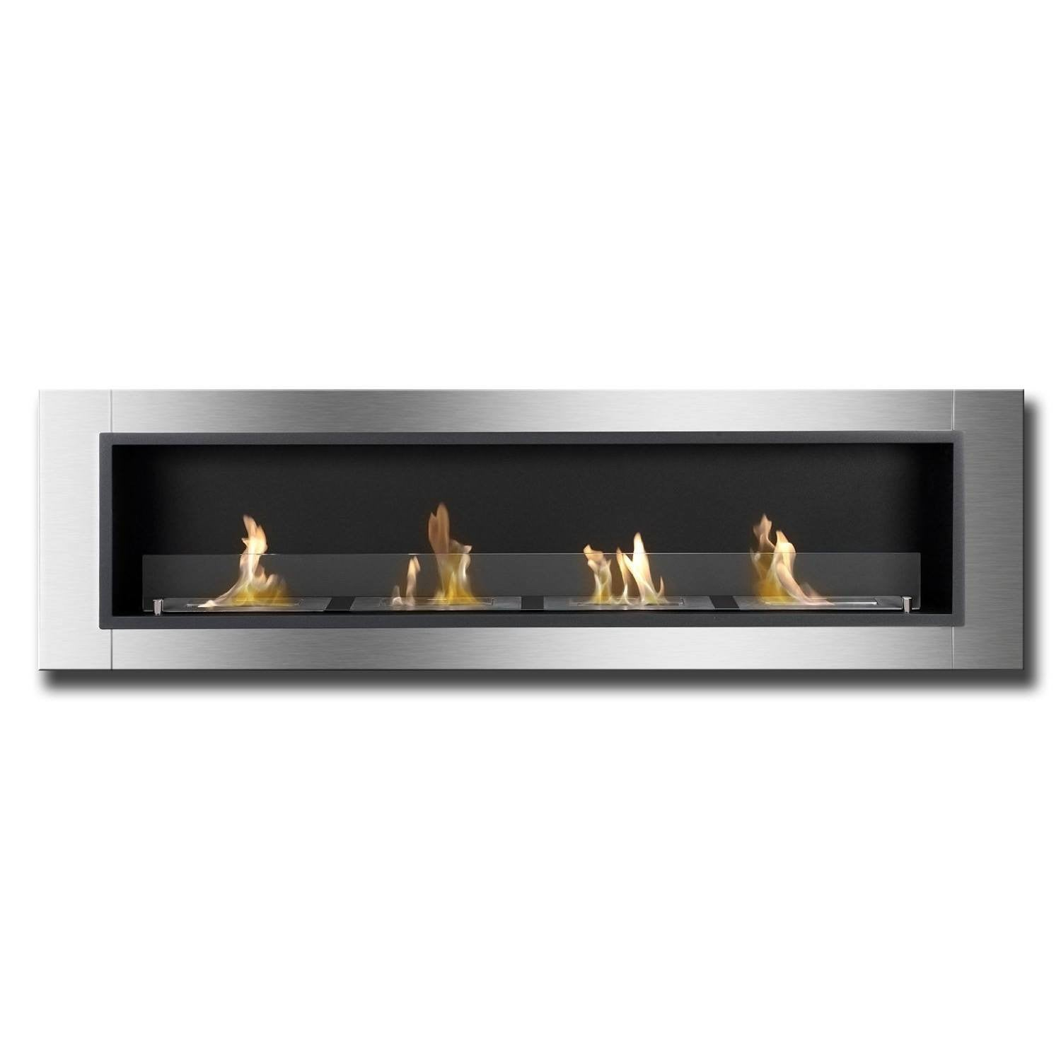 ethanol wall fireplaces wall mounted fireplace