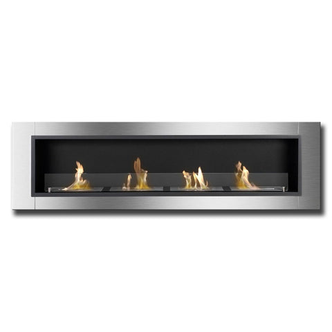 Ignis Accalia Bio Ethanol Recessed Wall Fireplace - Ethanol Fireplace Pros