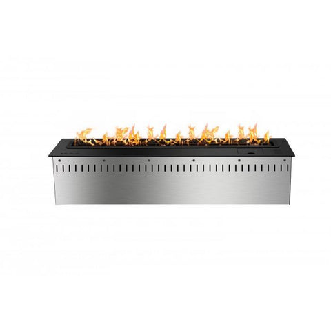 "30"" Smart Bio Ethanol Electronic Burner - Black - Ethanol Fireplace Pros"