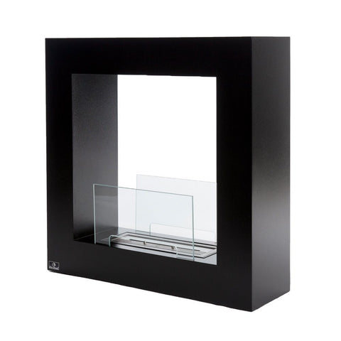 Bio-Blaze Small Qube Fireplace - Ethanol Fireplace Pros