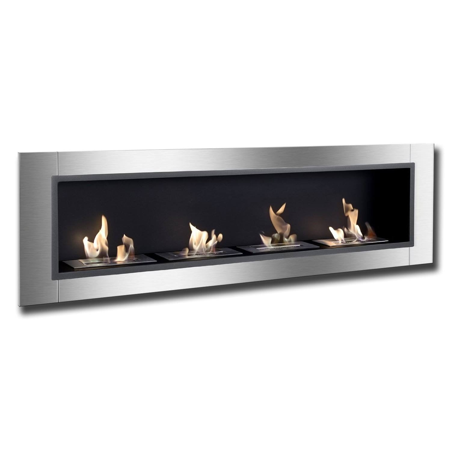 ignis accalia bio ethanol recessed wall fireplace. Black Bedroom Furniture Sets. Home Design Ideas