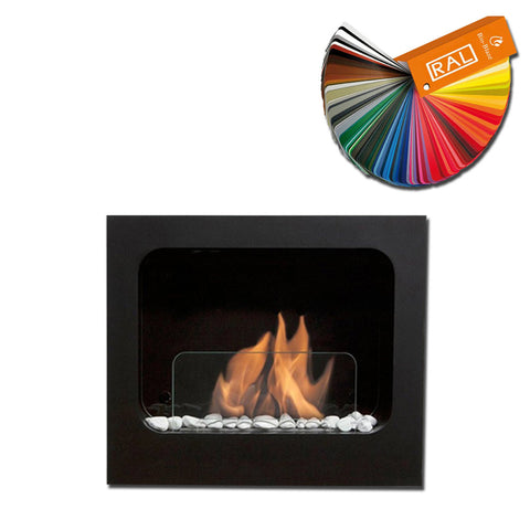 Bio-Blaze Columbus Wall Mount Bio Ethanol Fireplace - Wall Fireplaces - Ethanol Fireplace Pros