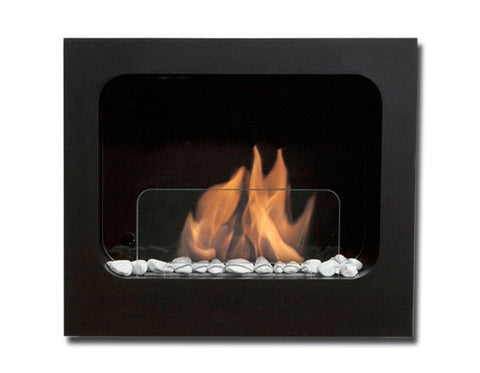 Bio-Blaze Columbus Wall Mount Bio Ethanol Fireplace - Ethanol Fireplace Pros