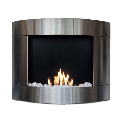 Bio-Blaze Diamond 2 Bio-Ethanol Fireplace - Wall Fireplaces - Ethanol Fireplace Pros