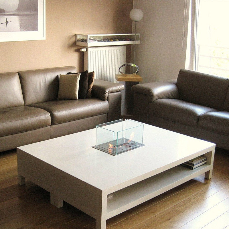 Free Shipping and No Sales Tax on the Bio Blaze Insert Table Bio-Ethanol Fireplace from the Ethanol Fireplace Pros.