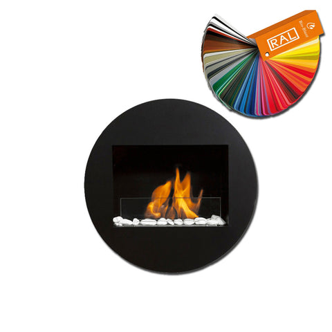 Bio-Blaze Qwara Wall Mount Bio Ethanol Fireplace - Wall Fireplaces- Ethanol Fireplace Pros