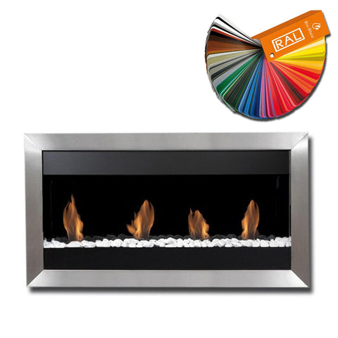 Bio-Blaze Square Large 1 Bio-Ethanol Fireplace - Wall Fireplaces - Ethanol Fireplace Pros