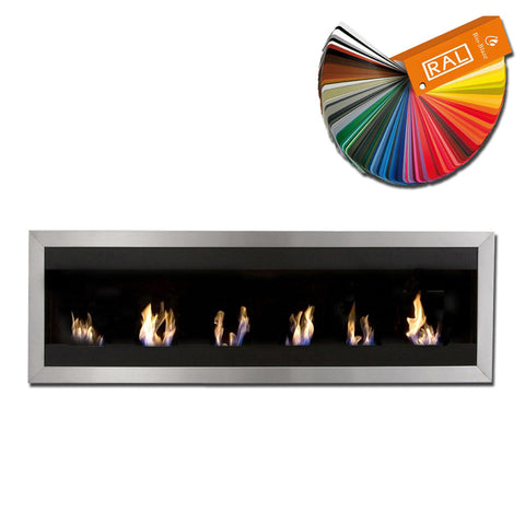 Bio-Blaze Square XL 1 Bio-Ethanol Fireplace - Wall Fireplace Pros - Ethanol Fireplace Pros