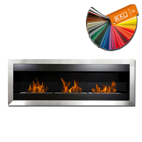 Bio-Blaze Square XL 2 Bio-Ethanol Fireplace - Wall Fireplaces - Ethanol Fireplace Pros