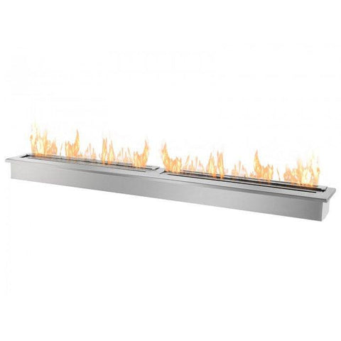 ethanol fireplace insert toronto gardeco stainless steel bioethanol grate burner large with logs