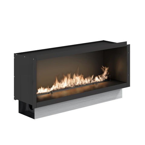 Fire Line Automatic 2 Model E in Casing Ethanol Fireplace - Ethanol Fireplace Pros