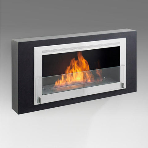 Eco-Feu Montreal Wall Mount Fireplace - Ethanol Fireplace Pros