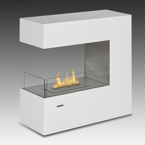 Eco-Feu Paramount 3-Side Biofuel Fireplace - Ethanol Fireplace Pros