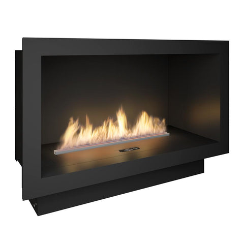 PrimeFire Ethanol Fireplace Insert in Casing - Ethanol Fireplace Pros
