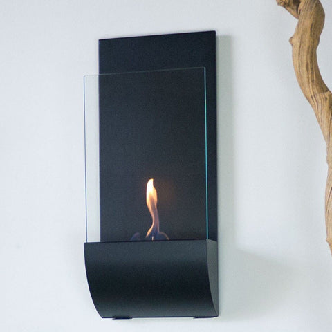 Nu-Flame Torcia Wall Mount Ethanol Torch Fireplace - Ethanol Fireplace Pros