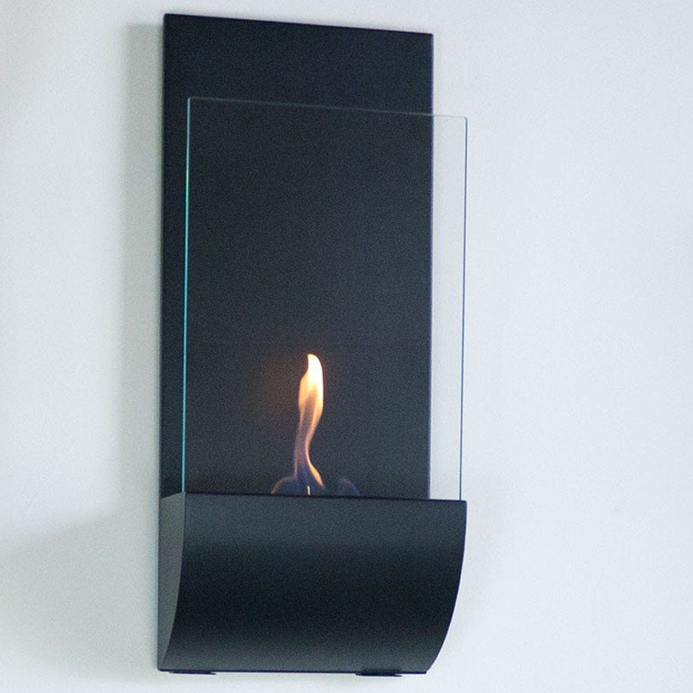 nu flame torcia wall mount ethanol torch fireplace