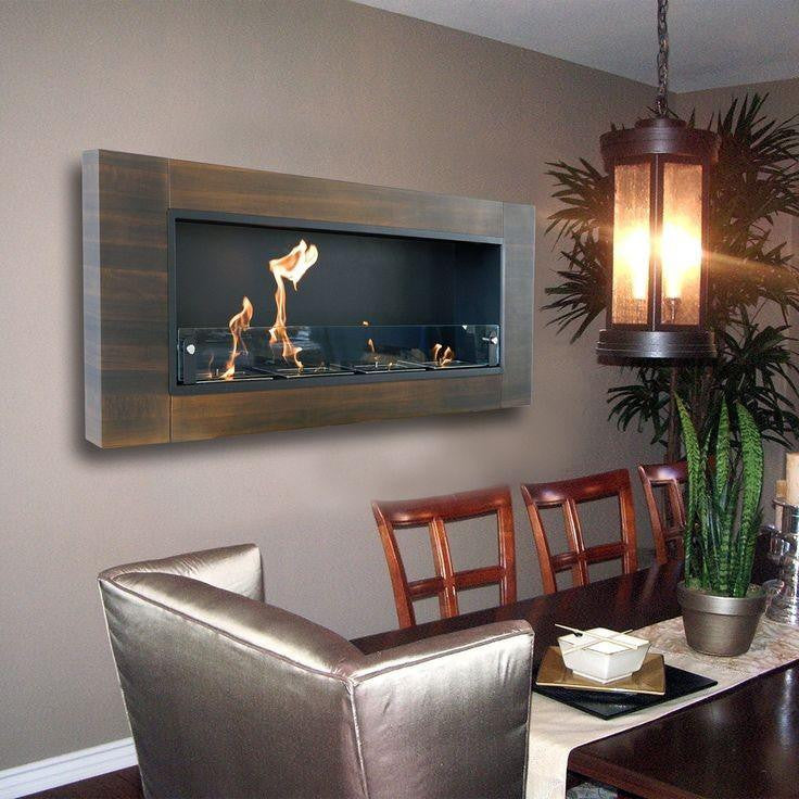 Fireplace Design wall mount fireplace : Nu-Flame Finestra Wall Mount Fireplace