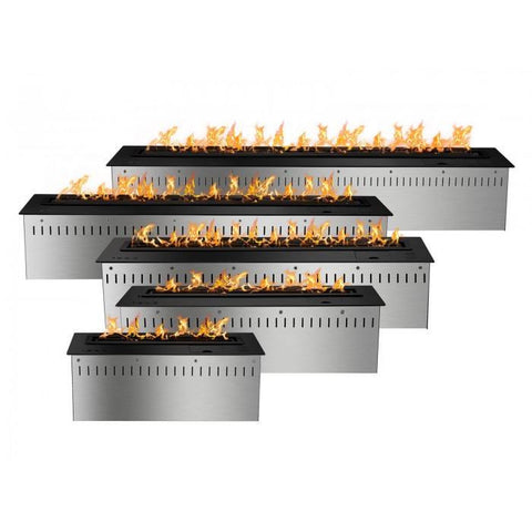 Smart Bio Ethanol Electronic Burner - Black - Ethanol Fireplace Pros