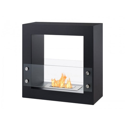 Tectum Mini – Freestanding Ventless Ethanol Fireplace - Ethanol Fireplace Pros