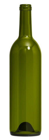 Antique Green Glass Bottle for your Bottle Tree