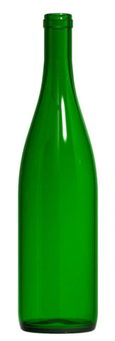 Champagne Green Bottle - perfect for your bottle tree
