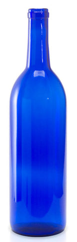 Cobalt blue glass bottle - perfect for your bottle tree