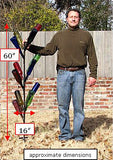 Cornstalk bottle tree dimensions