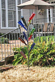 Cornstalk bottle tree is a beautiful ornament for your yard.