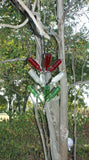 The Hang 'Em High Bottle Tree can be displayed anywhere you want