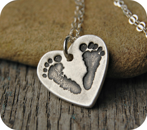 Baby Footprint Jewelry