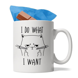 I Do What I Want - Ceramic Coffee Mug, 11-Ounce