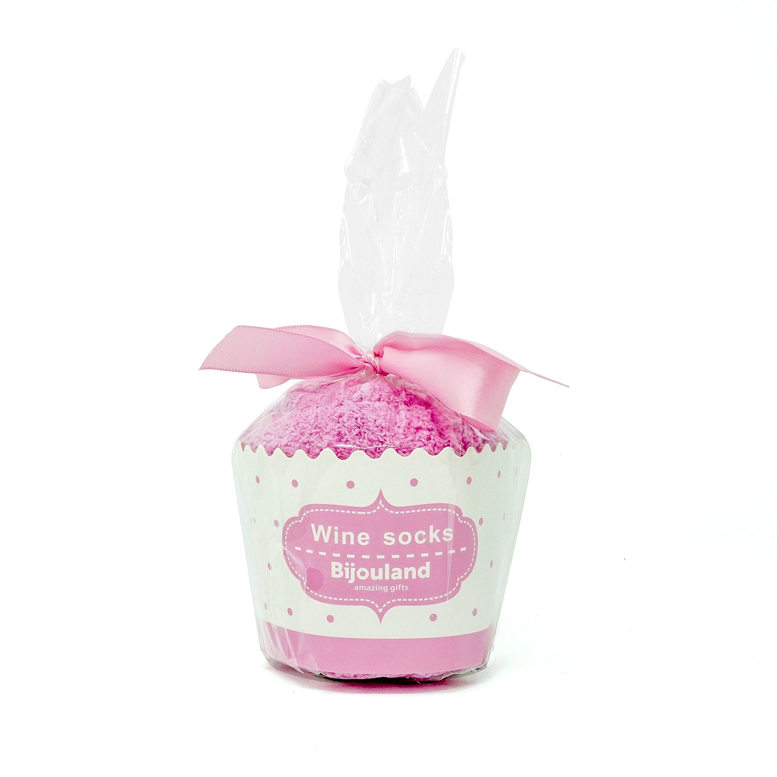 Bring Me Some Winе Socks - Gift for Mother's Day With Cute Cupcake Package