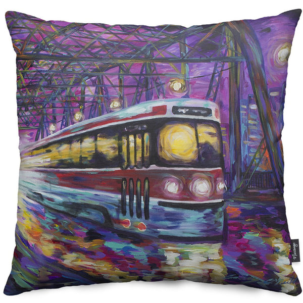 On Route Throw Pillow