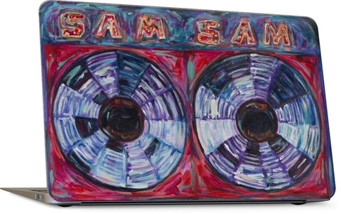Sam the Record Man Laptop Skin