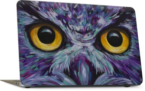 Owl Eyes Laptop Skin