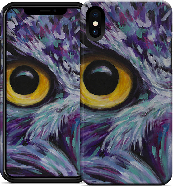 Owl Eyes iPhone Case