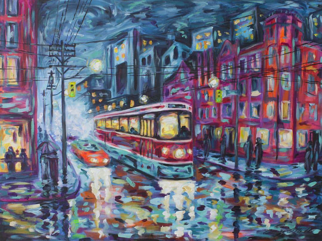 Night Lights - Limited Edition Print