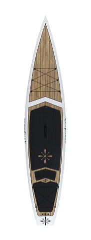 "Grey Duck 12'6"" Journey Zebrawood"
