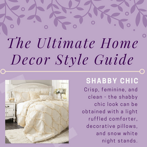 The Ultimate Home Decor Style Guide (Infographic)