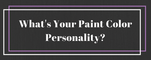 What's Your Paint Color Personality? (Infographic)