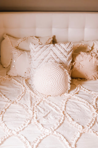 Riviera Comforter Set - Photo by Rachel Norstrom, Style Stories Blog