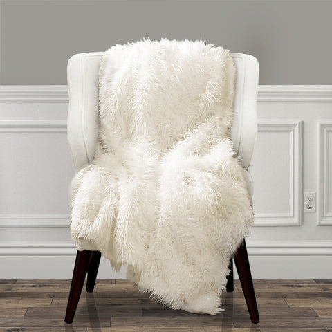 Luca Faux Fur Throw