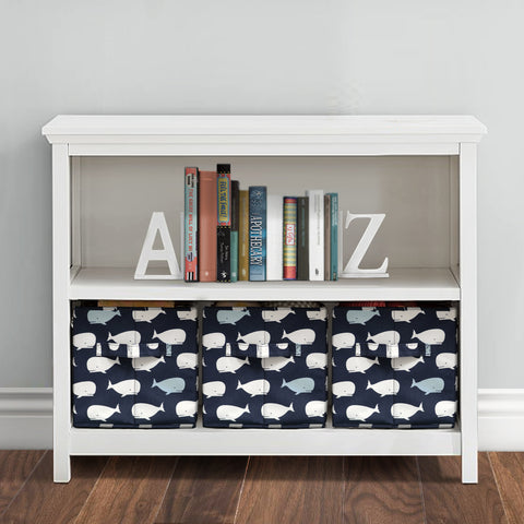 Lush Decor 3 Piece Fabric Covered Storage Boxes